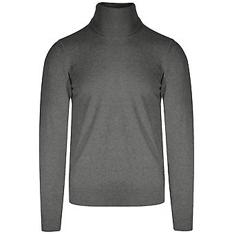 Replay Replay Grey Rollneck Knit Sweater