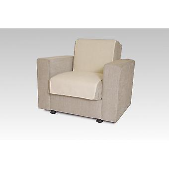 Seat saver wool ecru 175 cm x 47 cm
