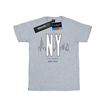 Friends Women's NY City Boyfriend Fit T-Shirt