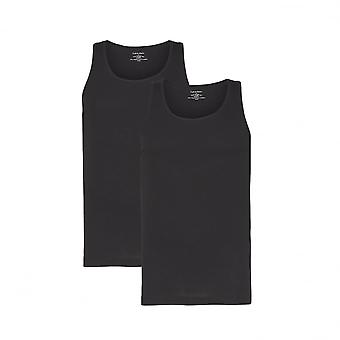 Calvin Klein 2 Pack Tank Tops Cotton Classics - Black