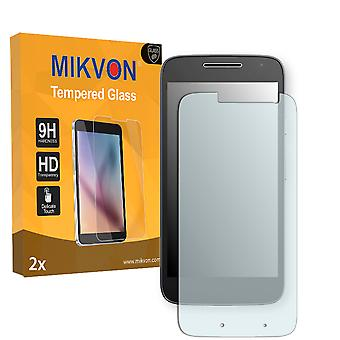 Lenovo Moto G4 Play Screen Protector - Mikvon flexible Tempered Glass 9H (Retail Package with accessories)