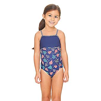 Zoggs Pears Classic back Swimsuit Navy/Multi