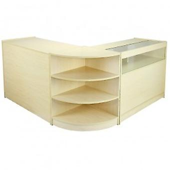 Zenith Maple Shop Counter & Retail Display Set