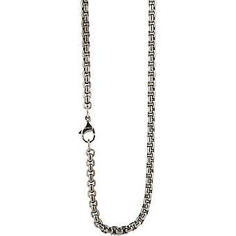 Ti2 Titanium venetianske Inka kæde - sølv