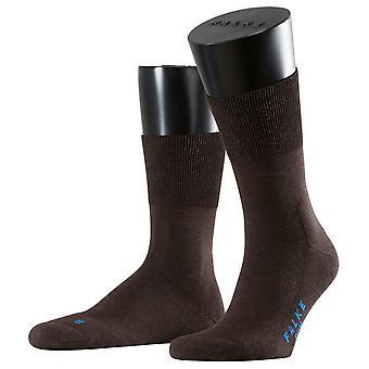 Falke Run Midcalf Socks - Dark Brown