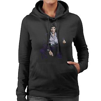 TV Times Joan Collins At Home 1971 Women's Hooded Sweatshirt