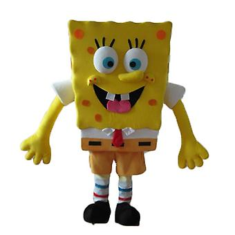 SPOTSOUND of SpongeBob, yellow character of cartoon mascot