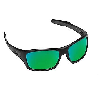 Best SEEK Polarized Replacement Lenses for Oakley TURBINE Green Mirror