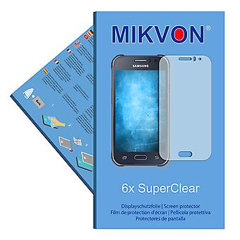 Samsung Galaxy J1 Ace Duos screen protector- Mikvon films SuperClear