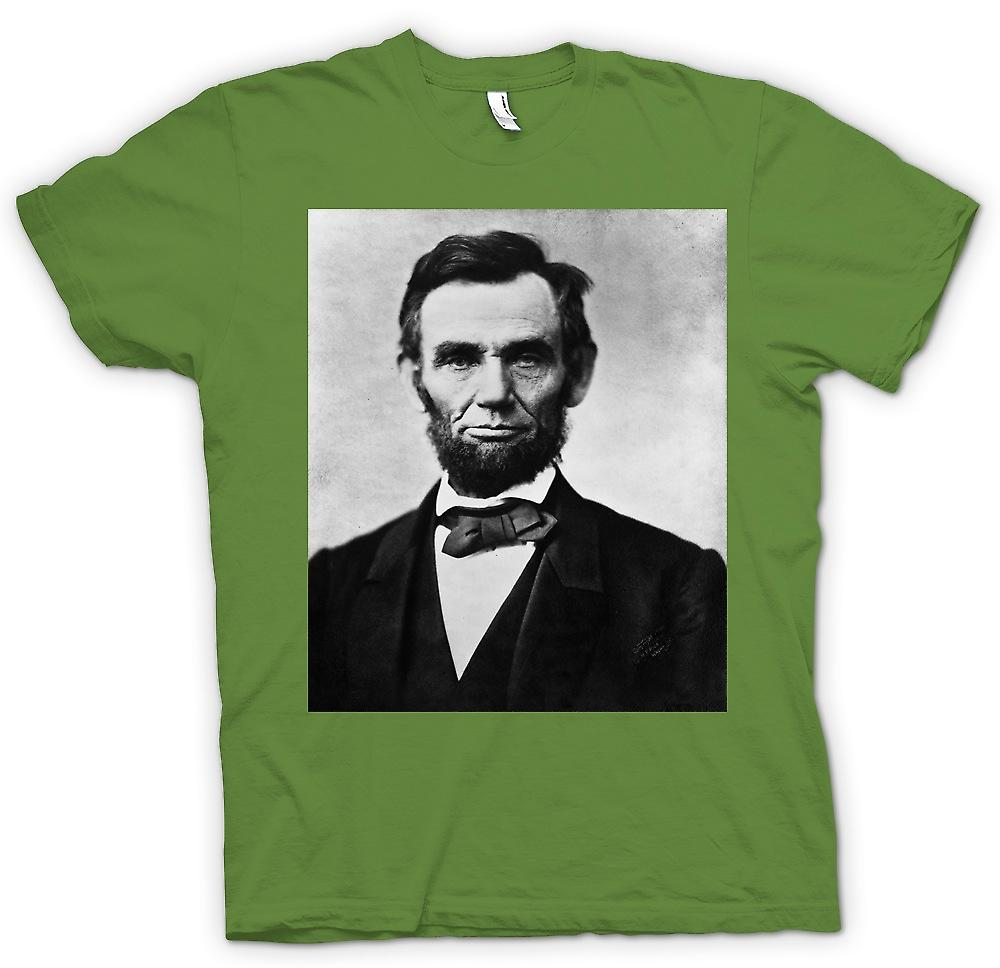 Mens T-shirt - Abraham Lincoln Portrait