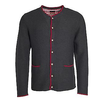 James and Nicholson Mens Traditional Knitted Jacket