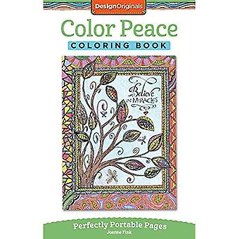 Color Peace Coloring Book: Perfectly Portable Pages (On the Go Coloring Book)