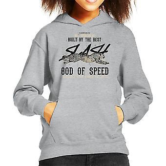 Cheetah God van snelheid Sportswear Kid de Hooded Sweatshirt
