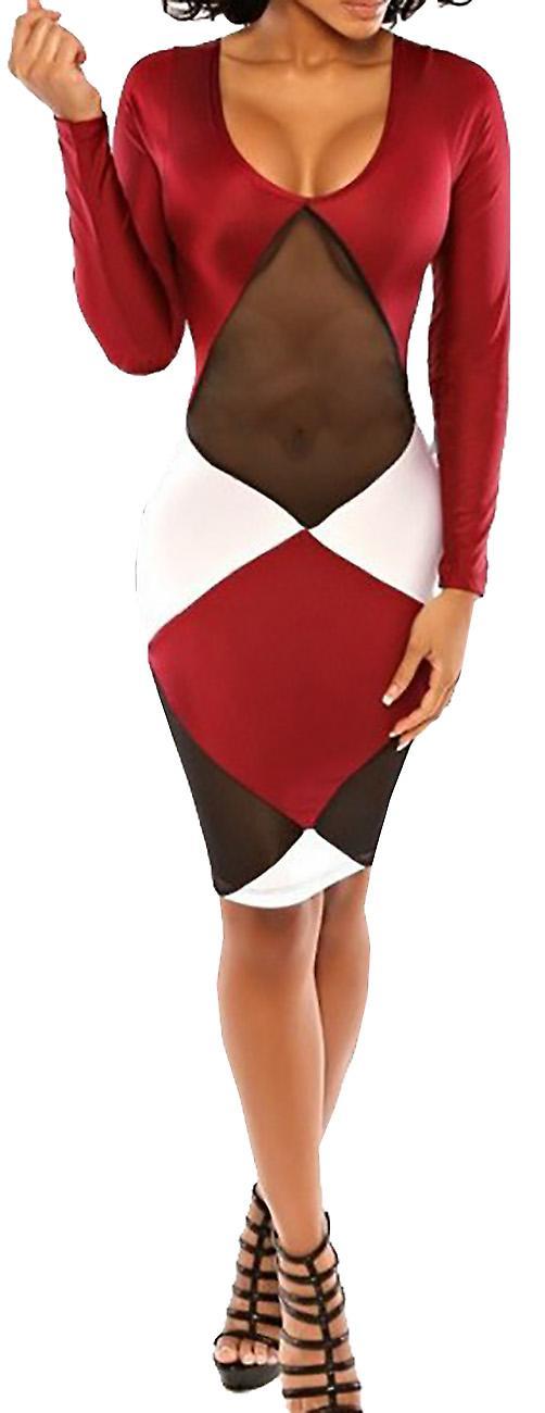 Waooh - Midi Dress semitransparent Dred