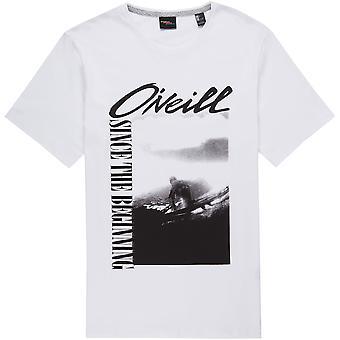 O'Neill Men's T-Shirt ~  Frame white