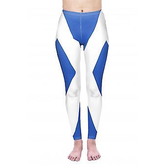 Union Jack tragen St Andrews Leggings