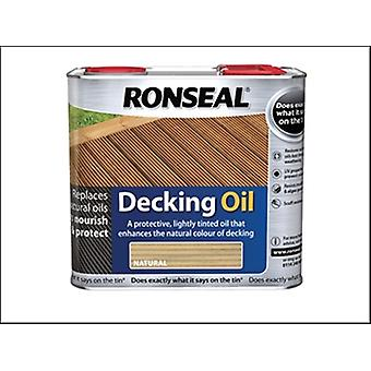 DECKING huile naturelle OAK 2,5 LITRE