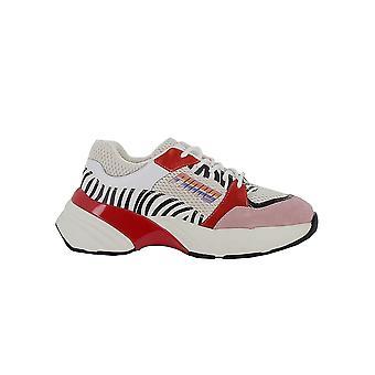 Pinko Multicolor Fabric Sneakers