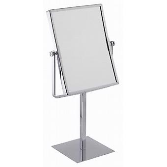 Famego 3x Magnification Rectangular Pedestal Mirror