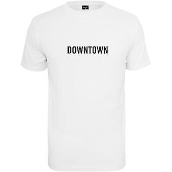 Mister tee shirt - DOWN TOWN white