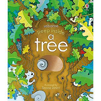 Zajrzeć wewnątrz drzewa przez Anna Milbourne - 9781474933841 książki