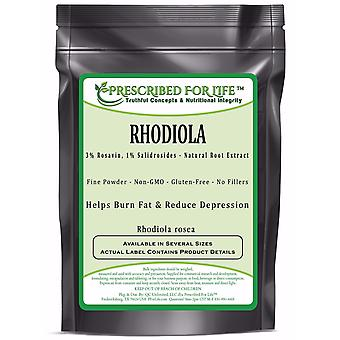 Rhodiola - 3% Rosavin, 1% Salidrosides - Natural Root Extract Powder (Rhodiola rosea)