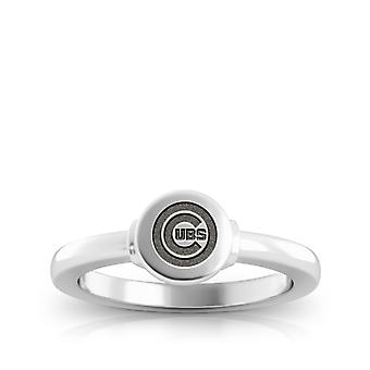 Chicago Cubs Cubs Logo Engraved Signet Ring