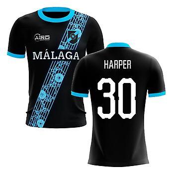 2019-2020 Malaga Away Concept Football Shirt (Harper 30)