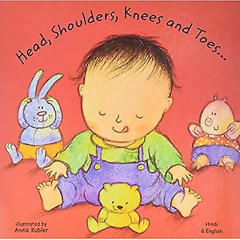 Head, Shoulders, Knees and Toes in Hindi and English (Board Books)