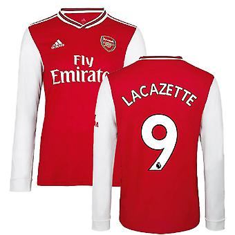 2019-2020 Arsenal Adidas Home Langarm Shirt (Kinder) (LACAZETTE 9)