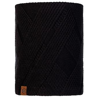 Buffera Negro Raisa Tejido y Polar Neckwarmer