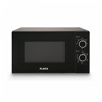 Microwave with grill 20 L 700W black 1888FL Flama