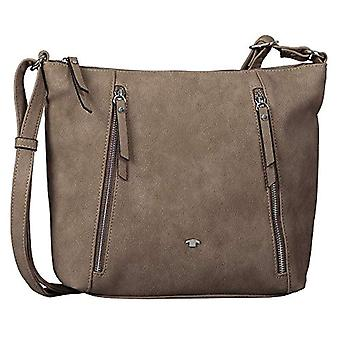 Tom Tailor Acc Carol - Women Beige Shoulder Bags (Taupe) 30x24x5.5 cm (W x H L)