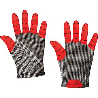 Spiderman Kids Gloves Red/Black