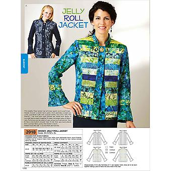 Jelly Roll Jacket  Xs  S  M  L  Xl Pattern K3918