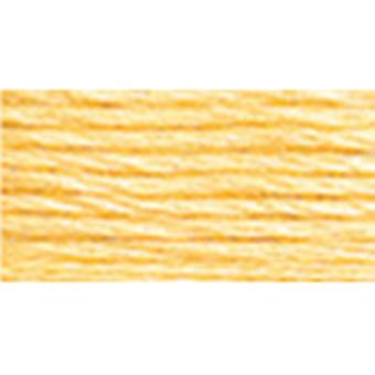 Dmc Six Strand Embroidery Cotton 100 Gram Cone Yellow Light Pale 5214 745
