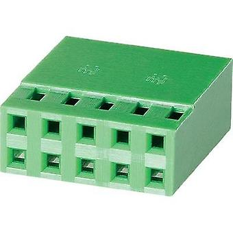 Socket enclosure - cable AMPMODU MOD IV Total number of pins 12 TE Connectivity 925367-6 Contact spacing: 2.54 mm 1 pc(s