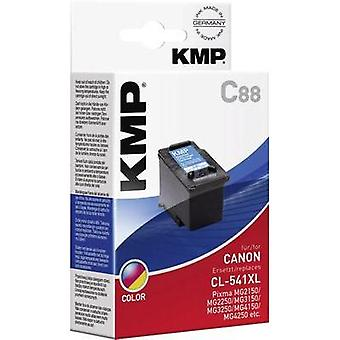 KMP Ink replaced Canon CL-541 Compatible Cyan, Ma