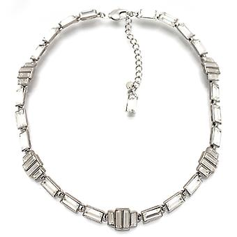 Butler and Wilson Thin Art Deco Style Necklace