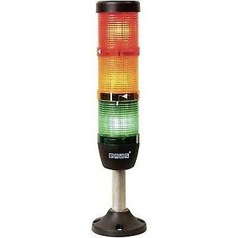 LED signal tower 3-way Red, Yellow, Green 220 V DC/AC EMAS IK53F220XM03 1 pc(s)