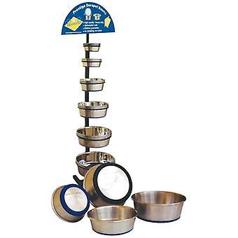 الفولاذ المقاوم للصدأ وعاء الكلب دورابيت ل 2.75