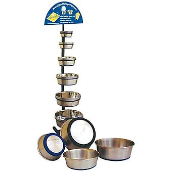 Durapet Dog Bowl Stainless Steel 2.75L