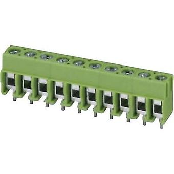 Screw terminal 2.50 mm² Number of pins 2 PT 1,5/ 2-5,0-H Phoenix Contact Green 1 pc(s)
