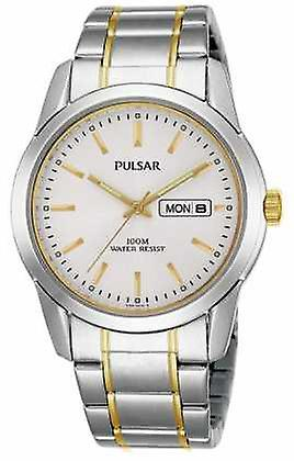 Pulsar Mens Quartz Dual Tone PJ6023X1 Watch