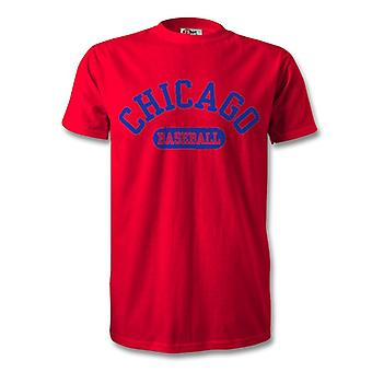 T-Shirt de Baseball de Chicago