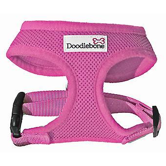 Doodlebone Harness Pink Large 46-58cm