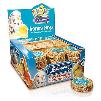 Jvp Treat2eat Honey Ring 25g (Pack of 45)