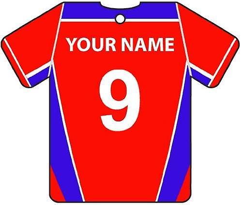 Personalised Dagenham & Redbridge Football Shirt Car Air Freshener