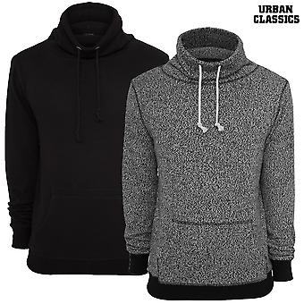 Urban classics melange high neck knitted crew