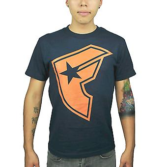 Famous Stars and Straps Logo Men's Blue T-shirt